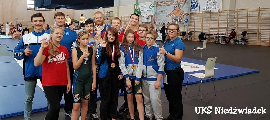 Nasze Niedźwiadki na Mistrzostwach Polski