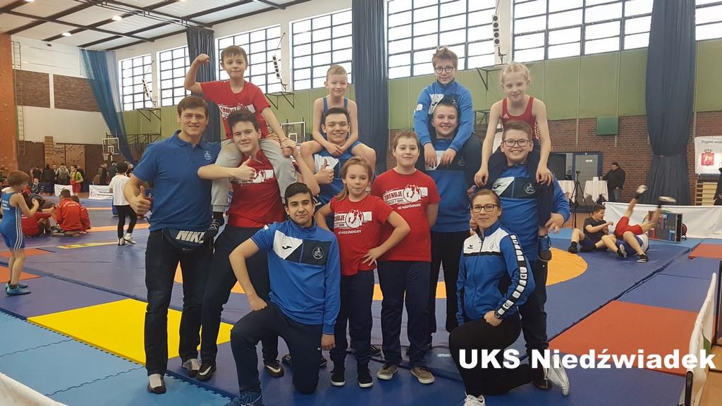 Warszawska Olimpiada Młodzieży w zapasach styl klasyczny