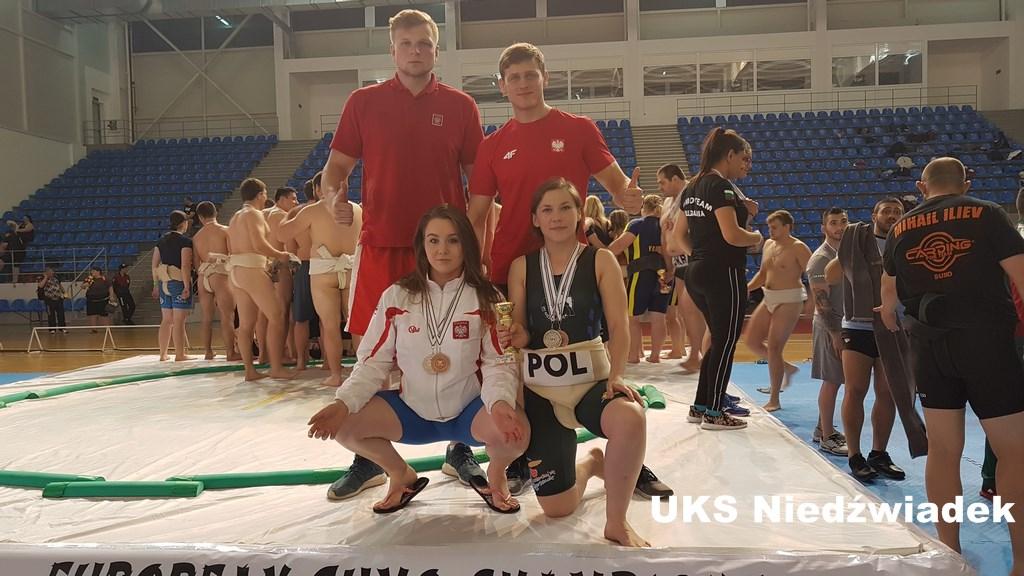 Kolejny mistrzowski weekend zawodników UKS Niedźwiadek – ME w sumo