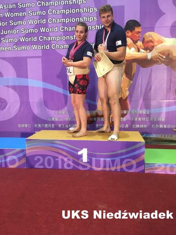 Mistrzostwa Świata w Sumo – 4 medale dla UKS Niedźwiadek