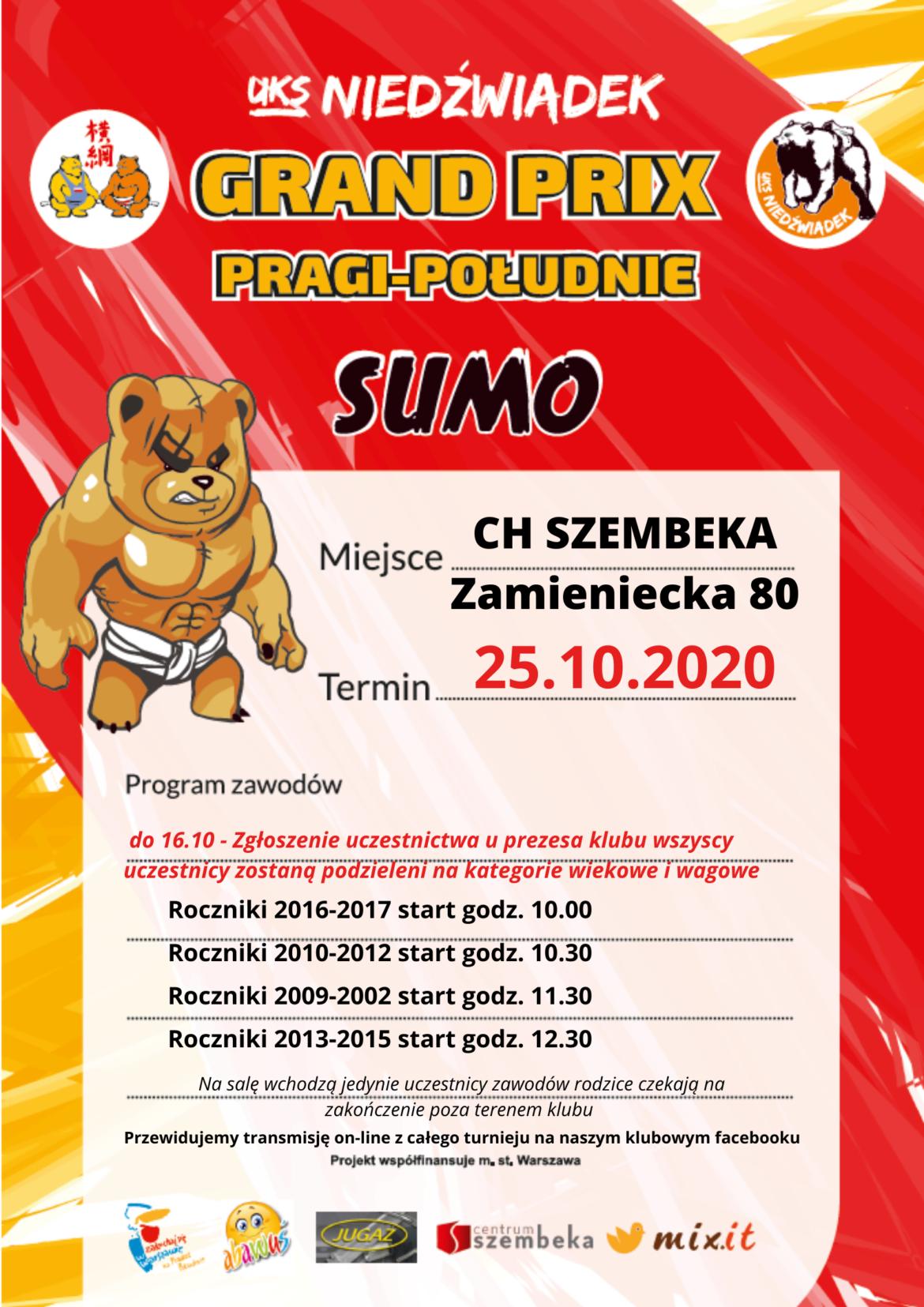 Grand Prix Pragi południe w sumo