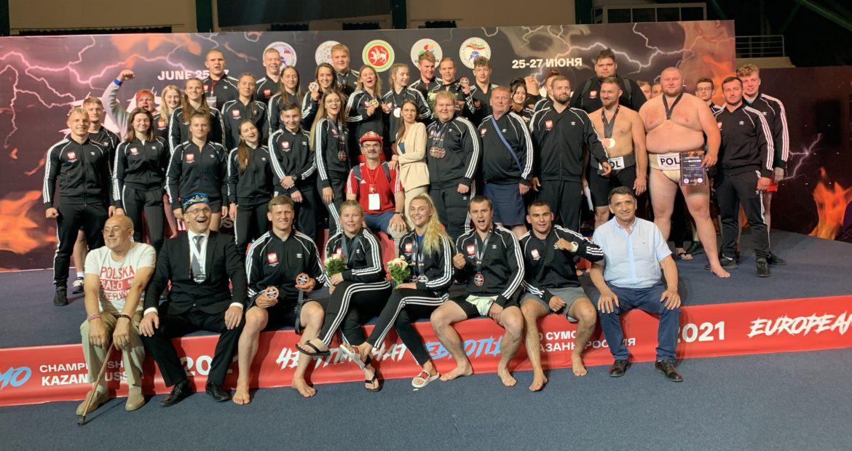 Mistrzostwach Europy w Sumo KAZAŃ 2021